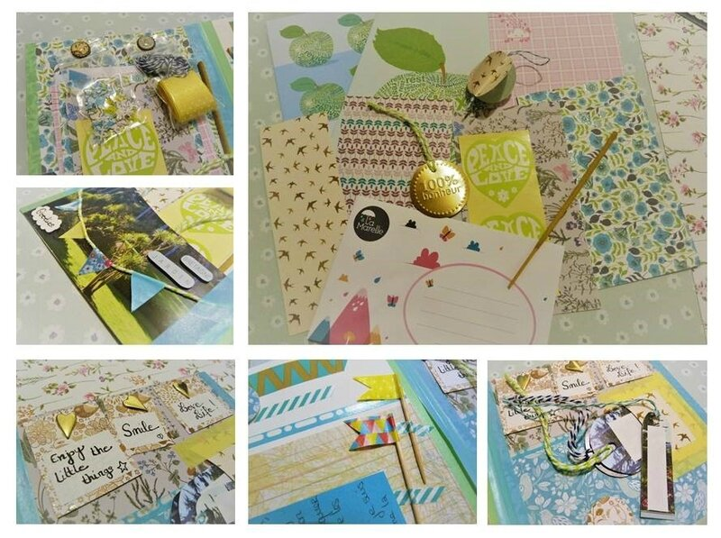 Crea Libellula - Happy Mail de Printemps