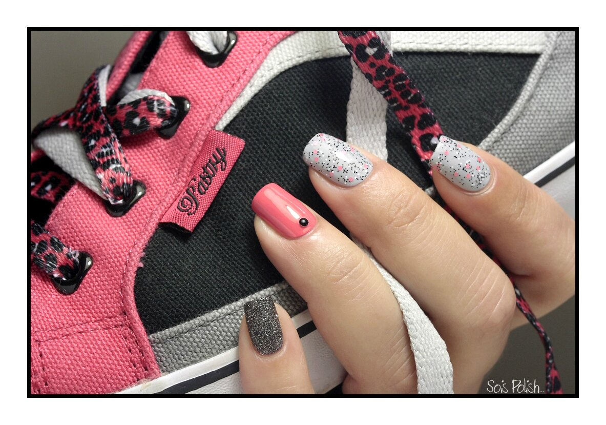 Sneakers Inspired Nails #3