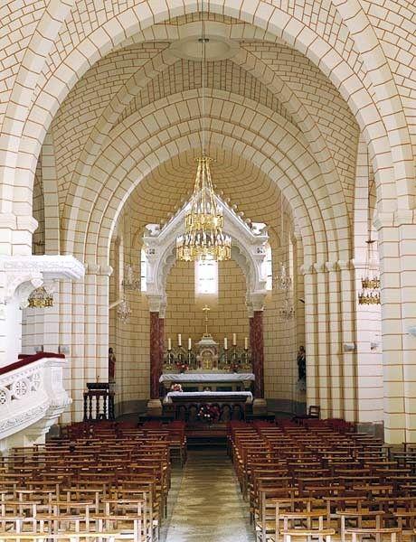 Saint Senoux, église Saint Abdon et Senen, intérieur