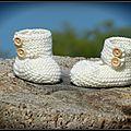 Babies en coton bio...