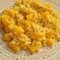 *** risotto exotique de courge butternut ***