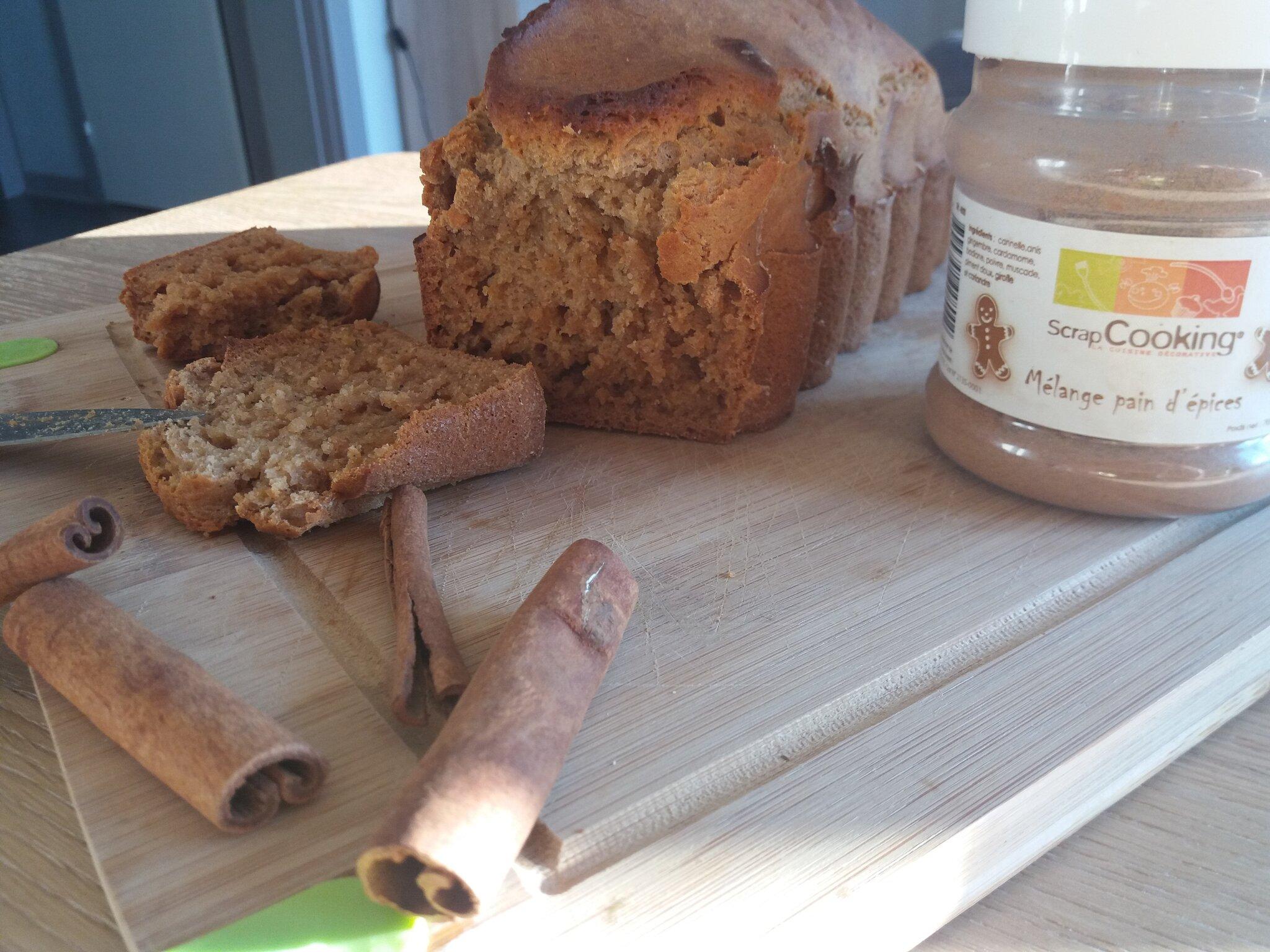 On savoure la saison du pain d'épices avec une version sans graisse