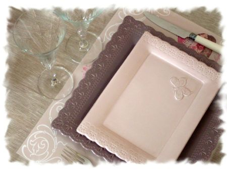 table rose poudrée 027