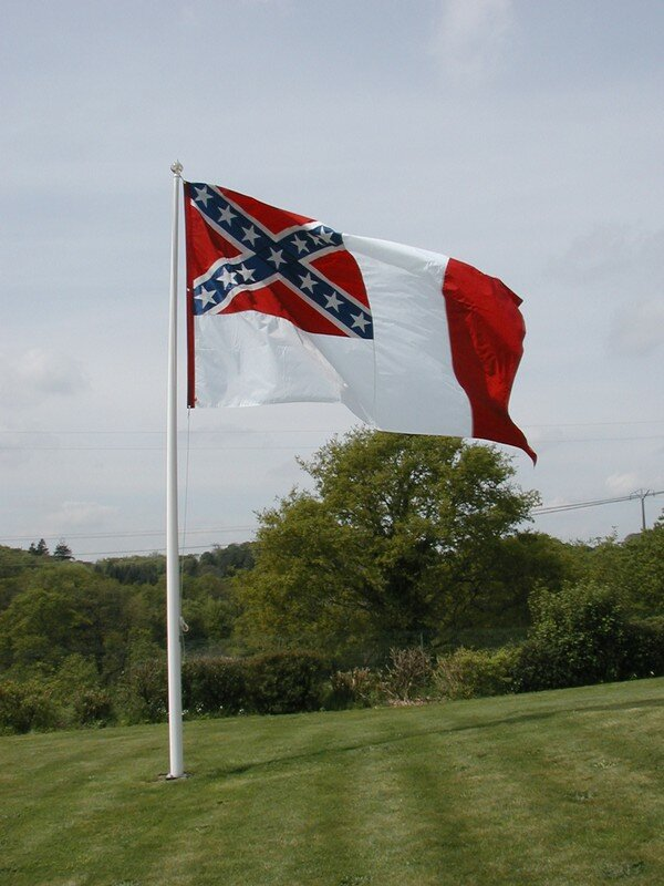 The Flag of the Confederate States of America