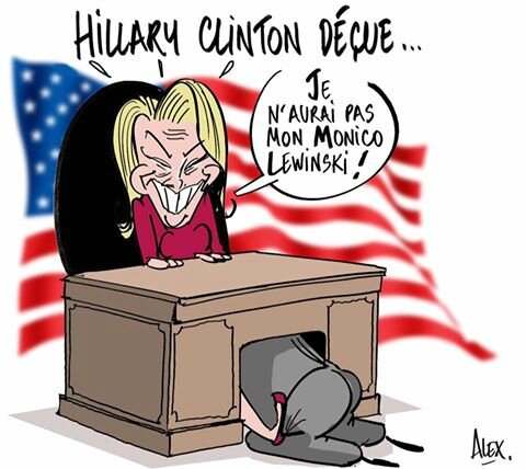 usa clinton humour fun