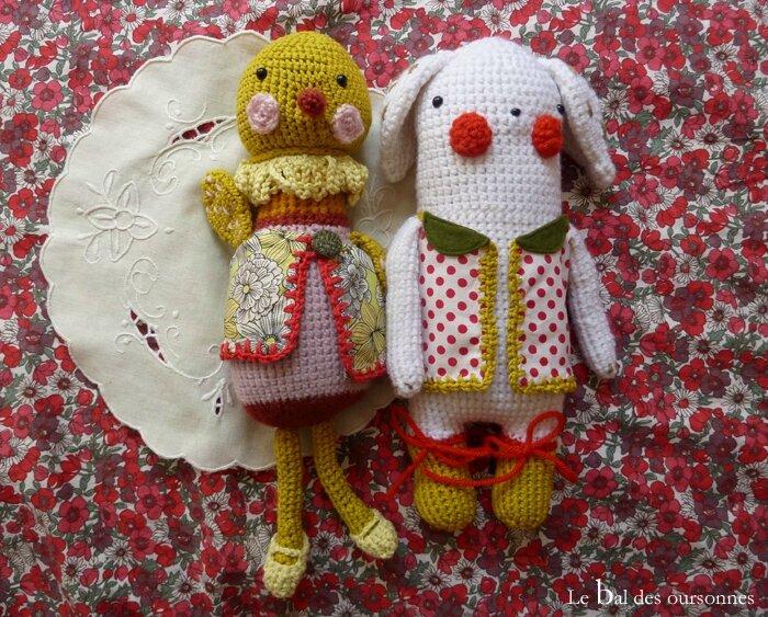 78 Tendre crochet Mariette et Gudule 2