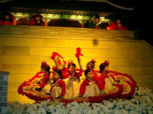 poupées en hanbok