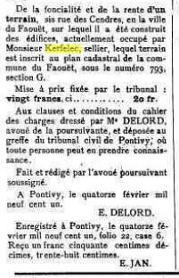 Presse Journal de Pontivy 1901_3