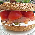 Bagel salmon & cream cheese