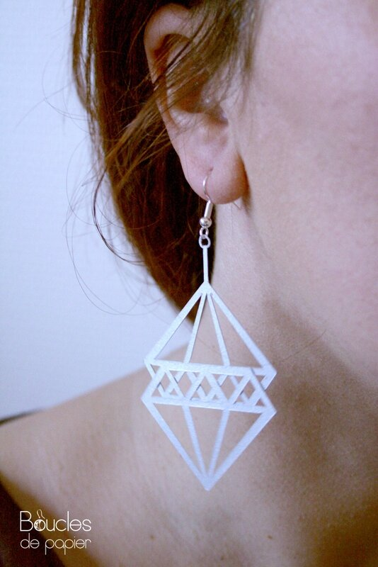 boucles diamant 007