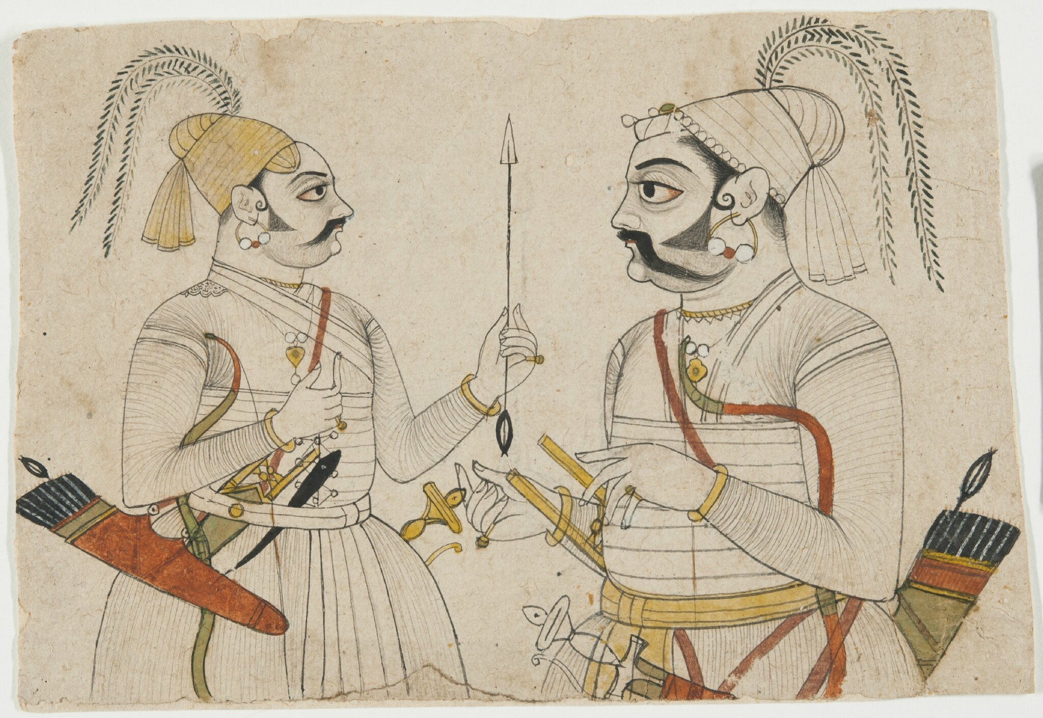"""Drawn from Courtly India: The Conley Harris and Howard Truelove Collection"" on view in Philadelphia"