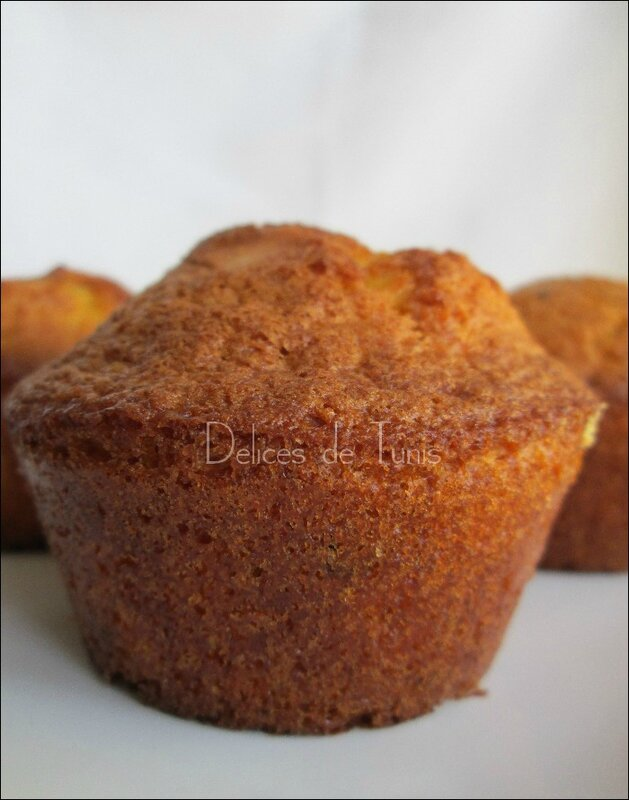 Muffins aux amandes effilées 2