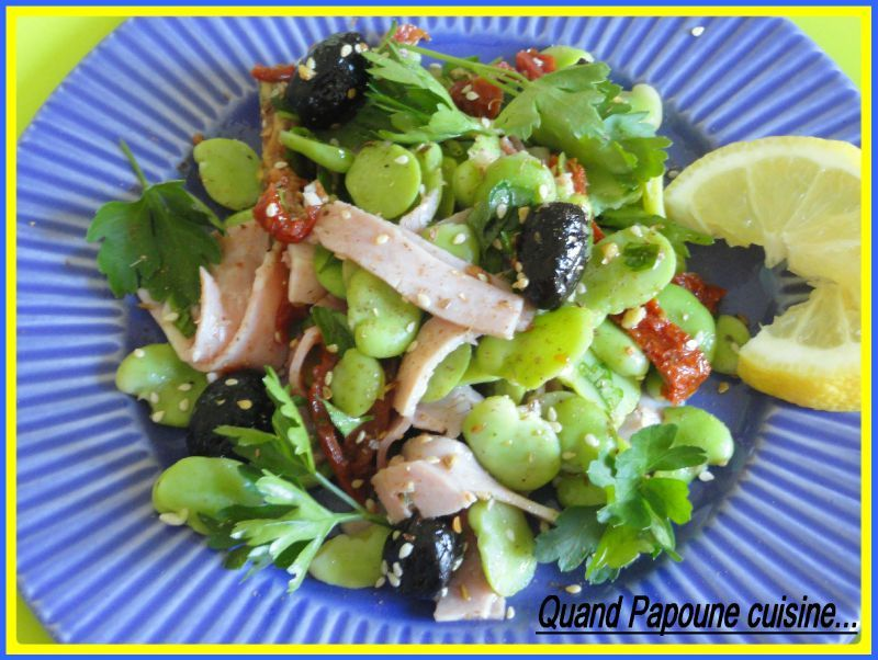 SALADE DE FEVES