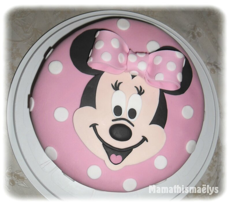 Gabarit gateau minnie