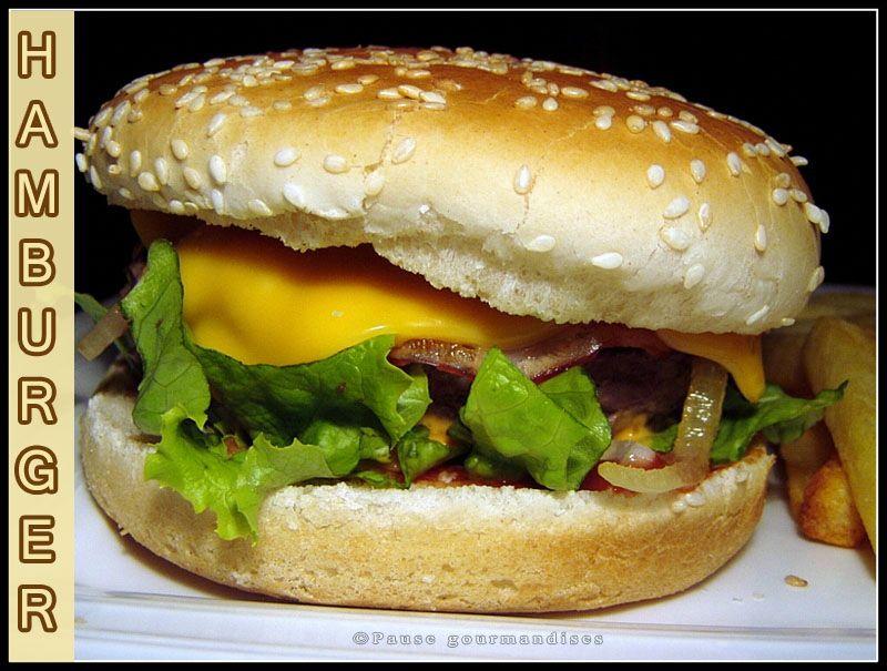 Id es de garnitures pour un hamburger maison pause gourmandises - Recette hamburger maison original ...