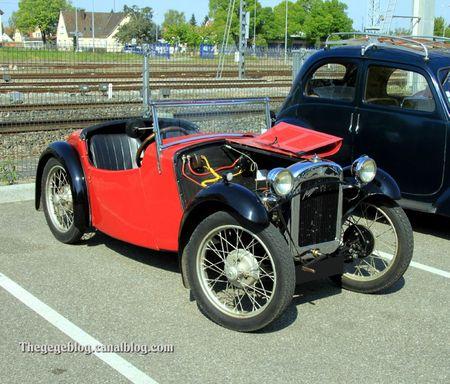 Austin seven 65 nippy 2 seater sport de 1933 (Rencard Haguenau avril 2011) 02