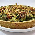 Tarte thon brocoli