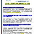 Tract :compte rendu des travaux du cce du 15 sept 2017