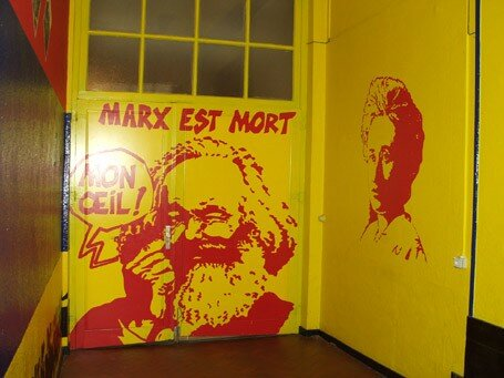 On a passe la nuit a l'space MARX