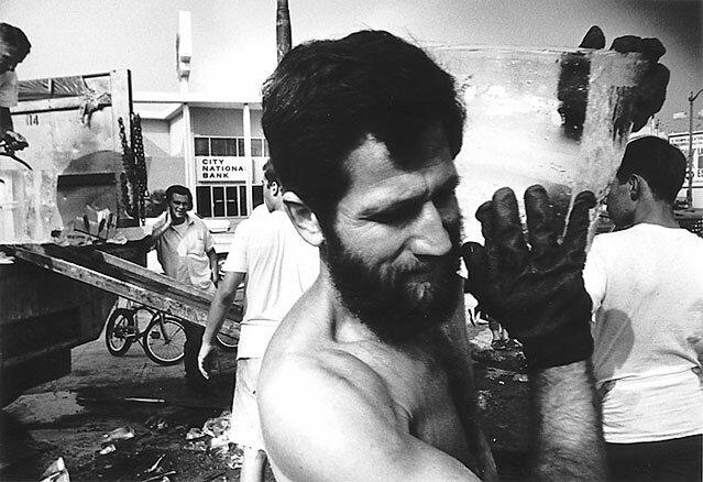 Allan Kaprow, Fluids Los Angeles1967