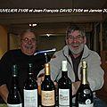 Jacques Cuvelier 71/06 et Jean François David71/04 - Retrouvailles en Janvier 2008