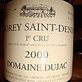 Domaine dujac 2000 morey-saint-denis 1er cru