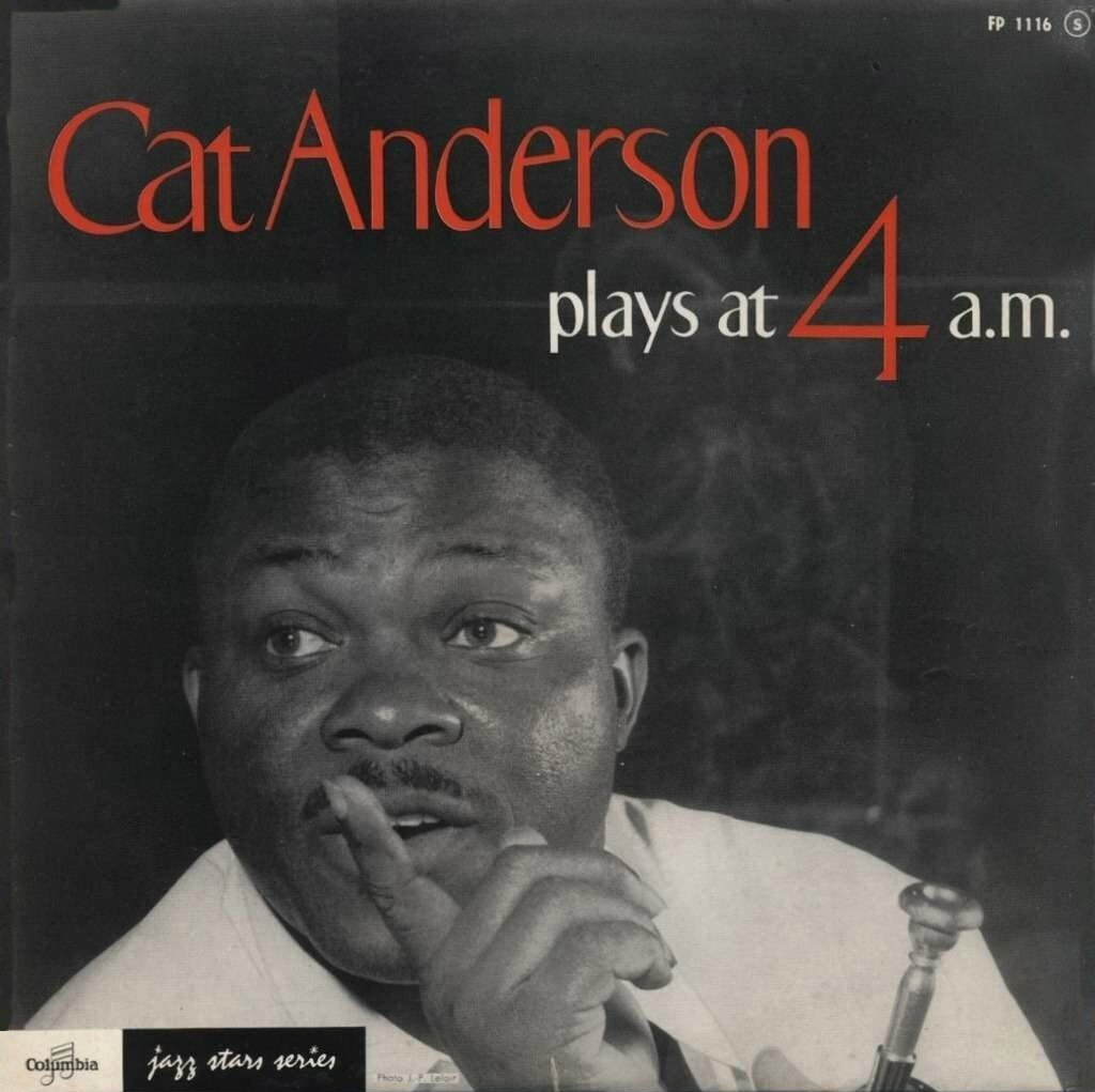 Cat Anderson - 1958 - Plays at 4 a