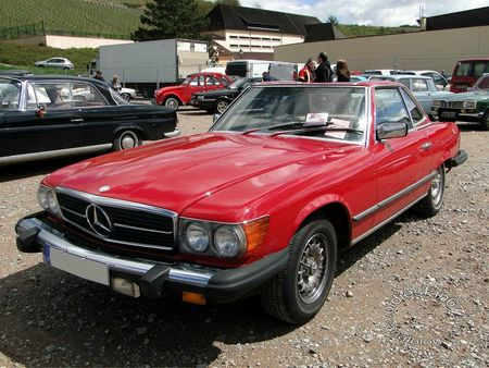 mercedes benz 380 sl cabriolet,1980 1986,bourse de soultzmatt 2012 3