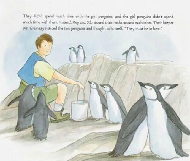 Un livre sur des pingouins gay sème la panique aux Etats-Unis !