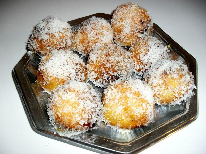 Boules coco (algerienne)