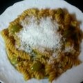 Pâtes aux olives vertes et tomates (pasta alle olive verdi)