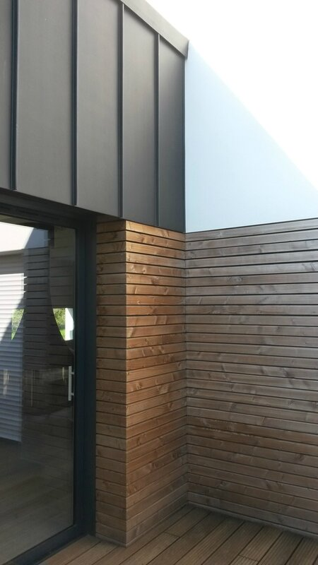 maison R - detail patio