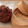Muffins au chocolat noir corse