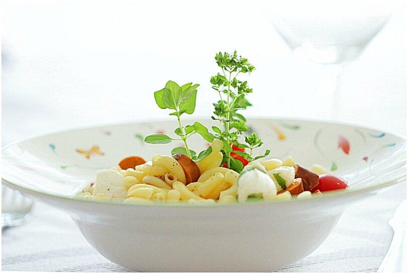 """Des choses à vous dire....un test, un joli colis et recette d'entrée avec des pâtes """"sans gluten"""" de Barilla...."""