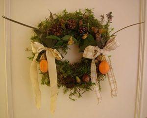Couronne automne Lilirosette