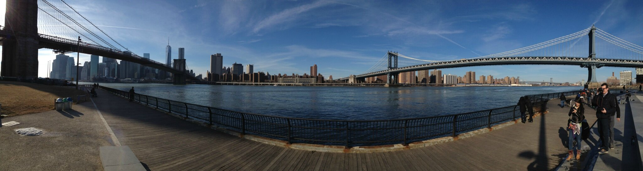 Le pont de BROOKLYN.......New York. USA