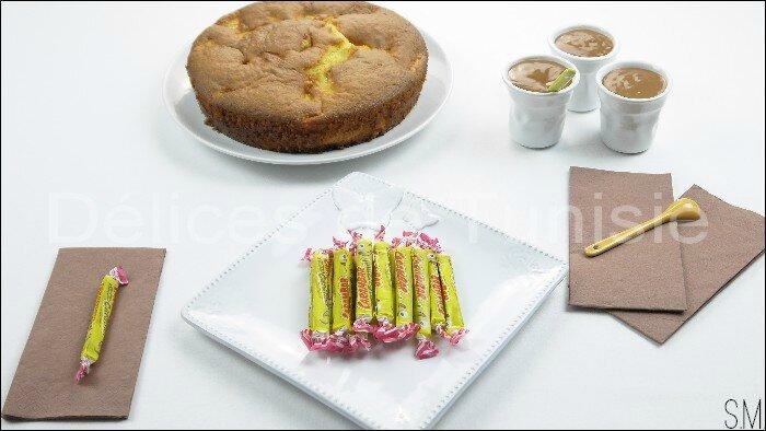 Gâteau aux Pommes et sa Sauce Carambars 5