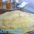 Baghrir au miel