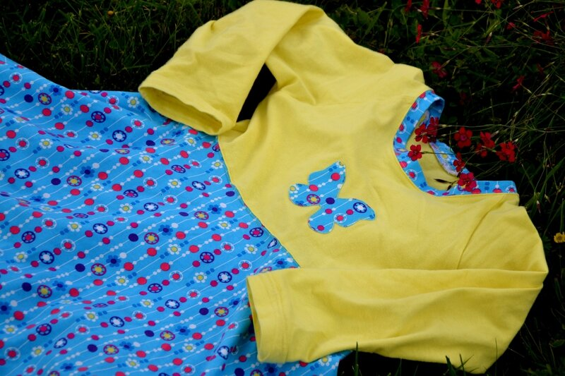 Bluebell dress jaune-2