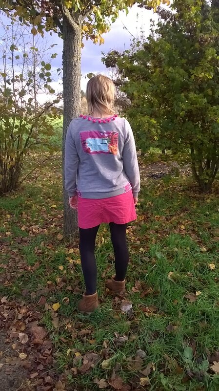 Sweat aux couleurs Gipsy
