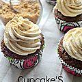 Cupcake's chocolat crème d'amande