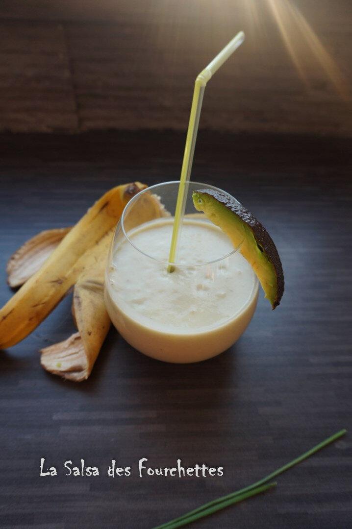 smoothie banane avocat