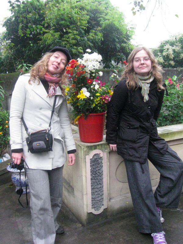 Deux Tay et un bouquet