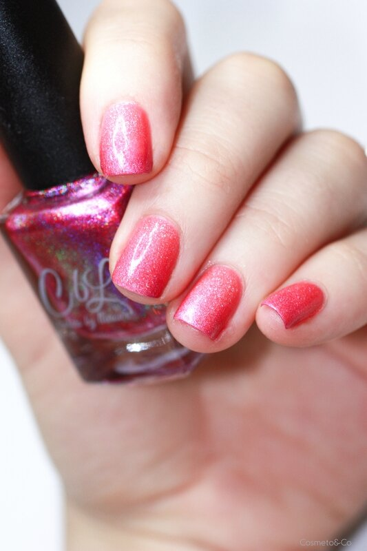 Dégradé Paris Picture Polish Courage Brains Heart CbL-2