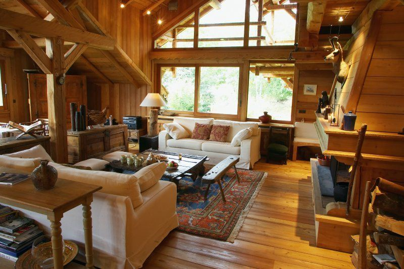 Deco Chalet Luxe. Beautiful Interieur Chalet Bois Deco Beautiful ...