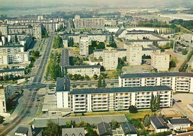 Angers, quartier Monplaisir