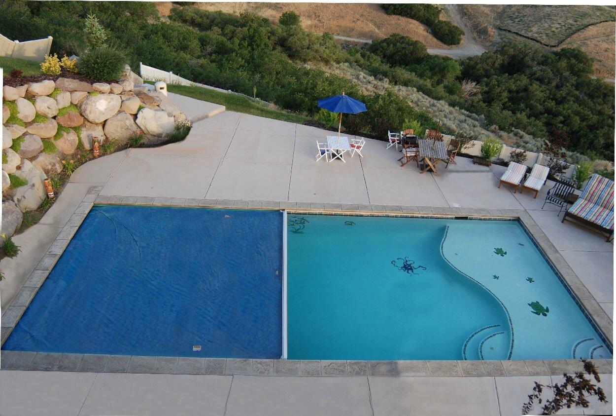 La b che de piscine un accessoire indispensable sur les for Accessoires piscine 54