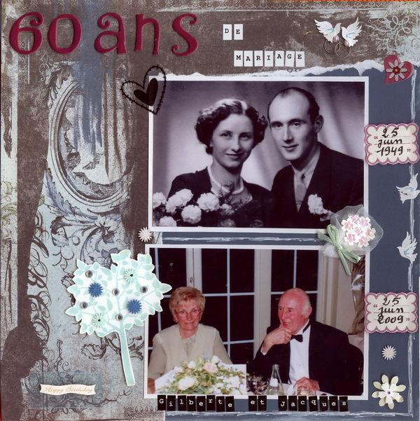 Anniversaire De Mariage 60 Ans