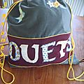 In my bag.... or, in his bag