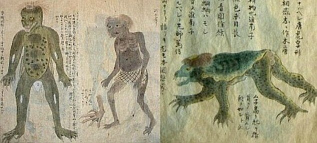 Source : http://www.dailymail.co.uk/sciencetech/article-2644036/Are-bones-water-demon-Remains-mythological-Kappa-Japan.html